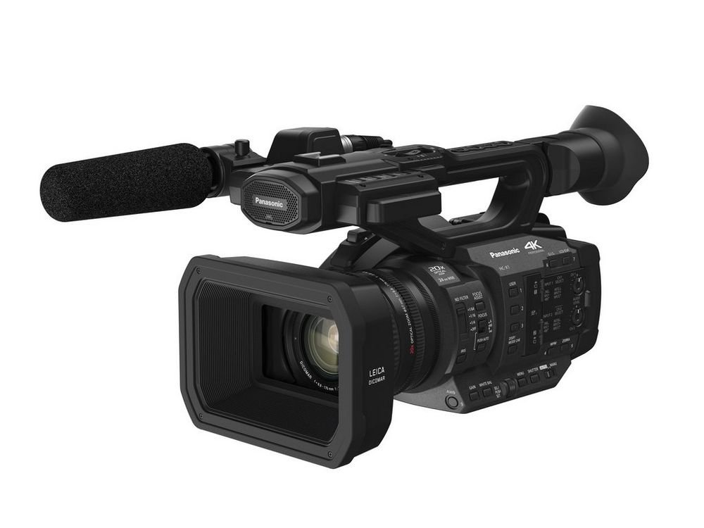 Ultra HD Professional Camcorder with 20X LEICA DICOMAR Lens