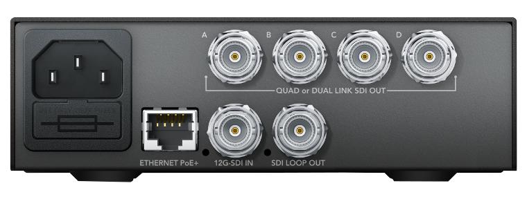 Teranex Mini - 12G-SDI to Quad SDI Converter