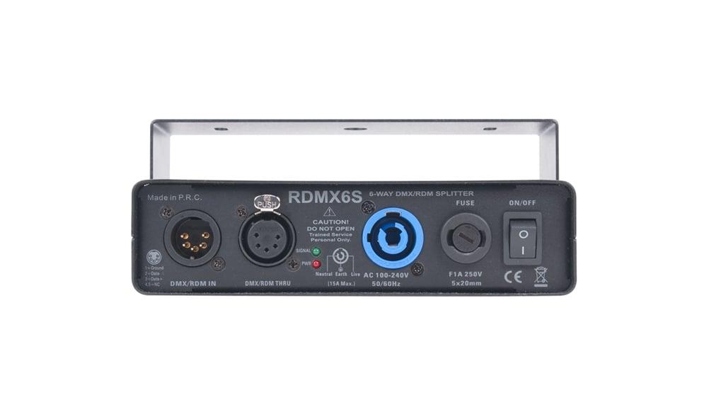 6-WAY RDM/DMX Data Splitter