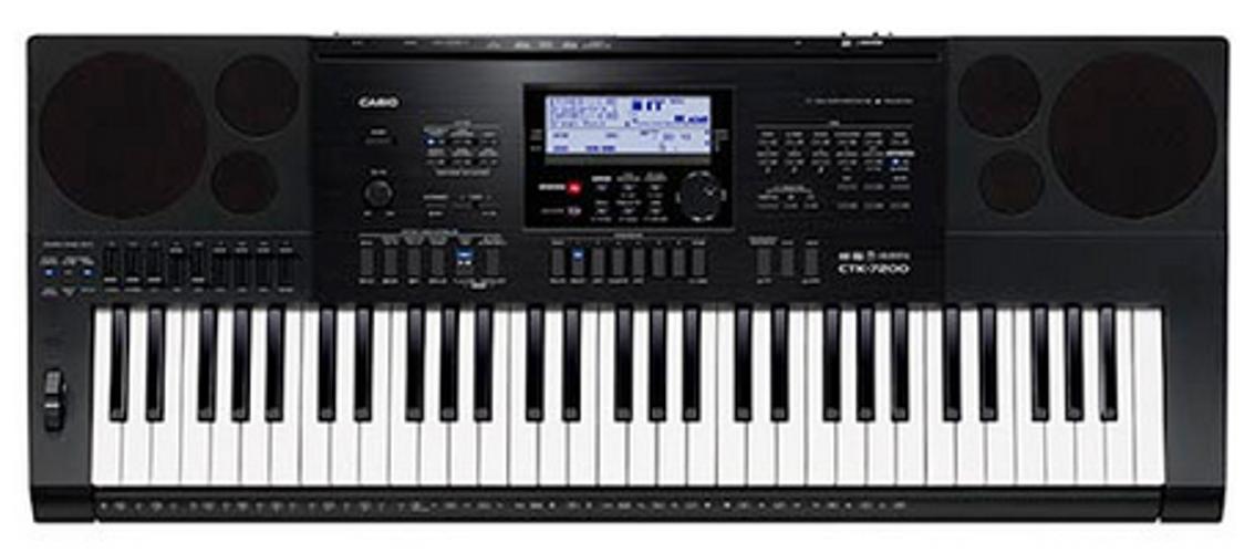 Casio CTK-7200 61-Key Synthesizer CTK7200