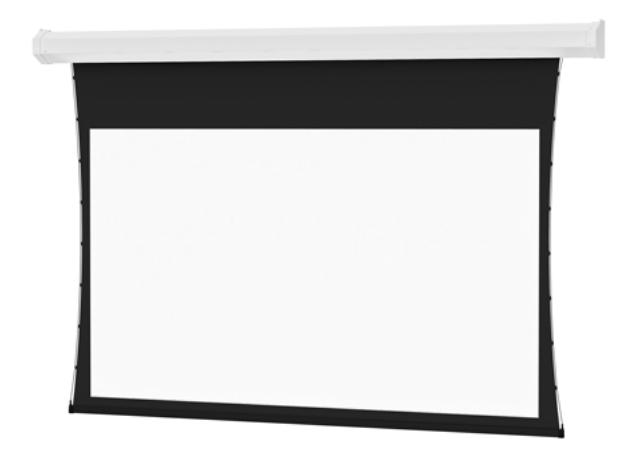 "87"" x 116"" Tensioned Cosmopolitan Electrol Dual Vision Screen"