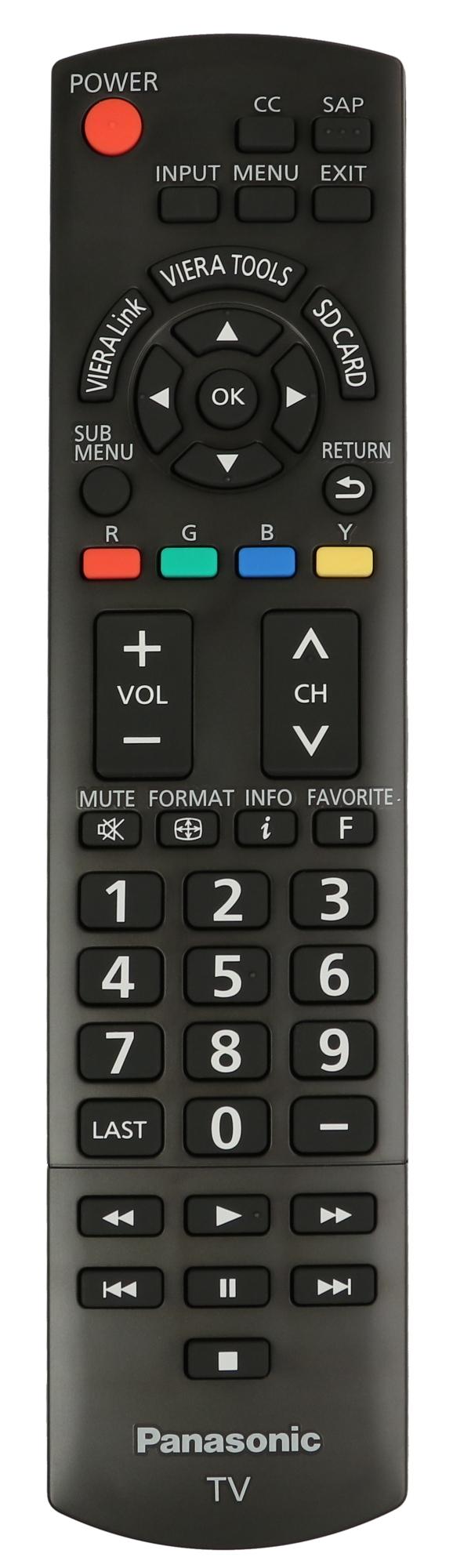 Panasonc TV Remote