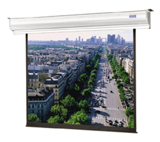 "50"" x 67"" Contour® Electrol® Electric Projection Screen, with Integrated Low Voltage Control and Silent Motor, Matte White"