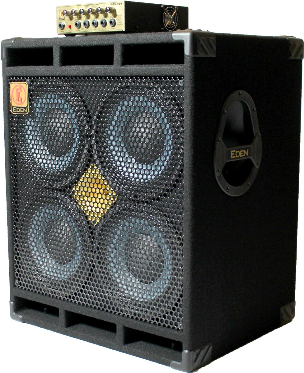 D410XLT 4x10 Cabinet with WTX264 260W Bass Amplifier Head