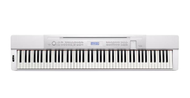 88-Key Digital Piano, White