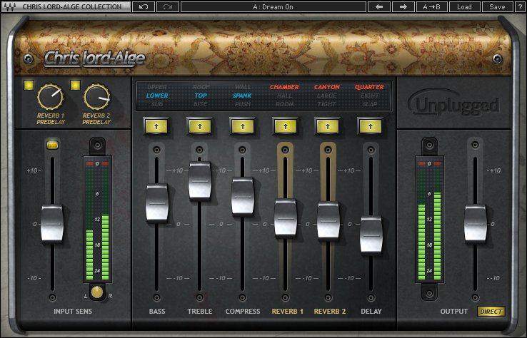 Multi-Effect Plugin for Acoustic Instruments