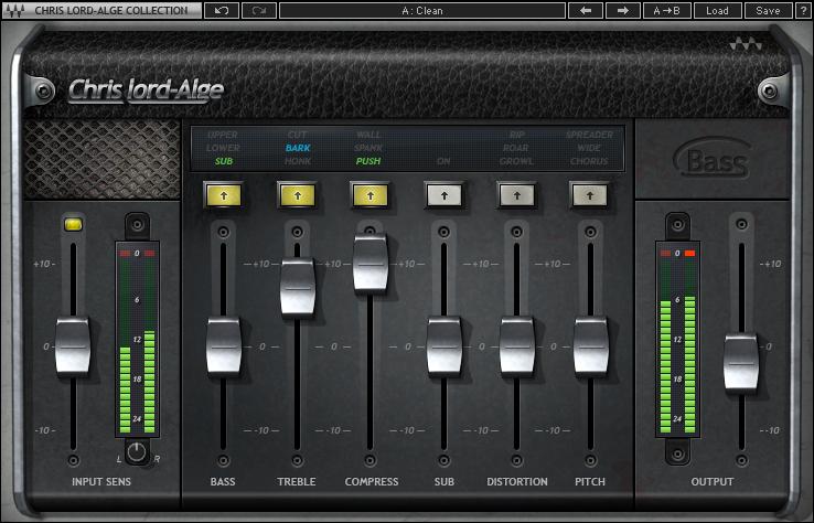 Multi-Effect Bass Plugin