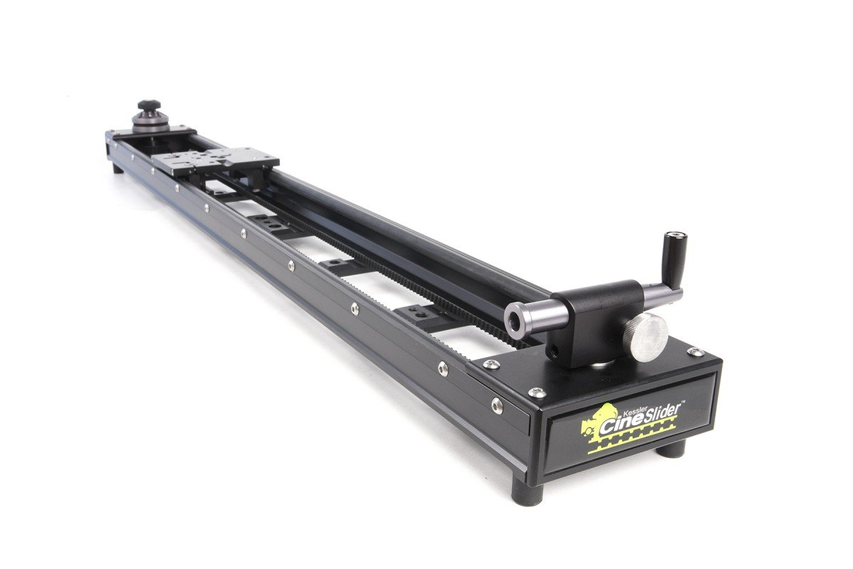 "Kessler CineSlider 60.5"" Camera Slider with Removable Crank Handle CS1003"