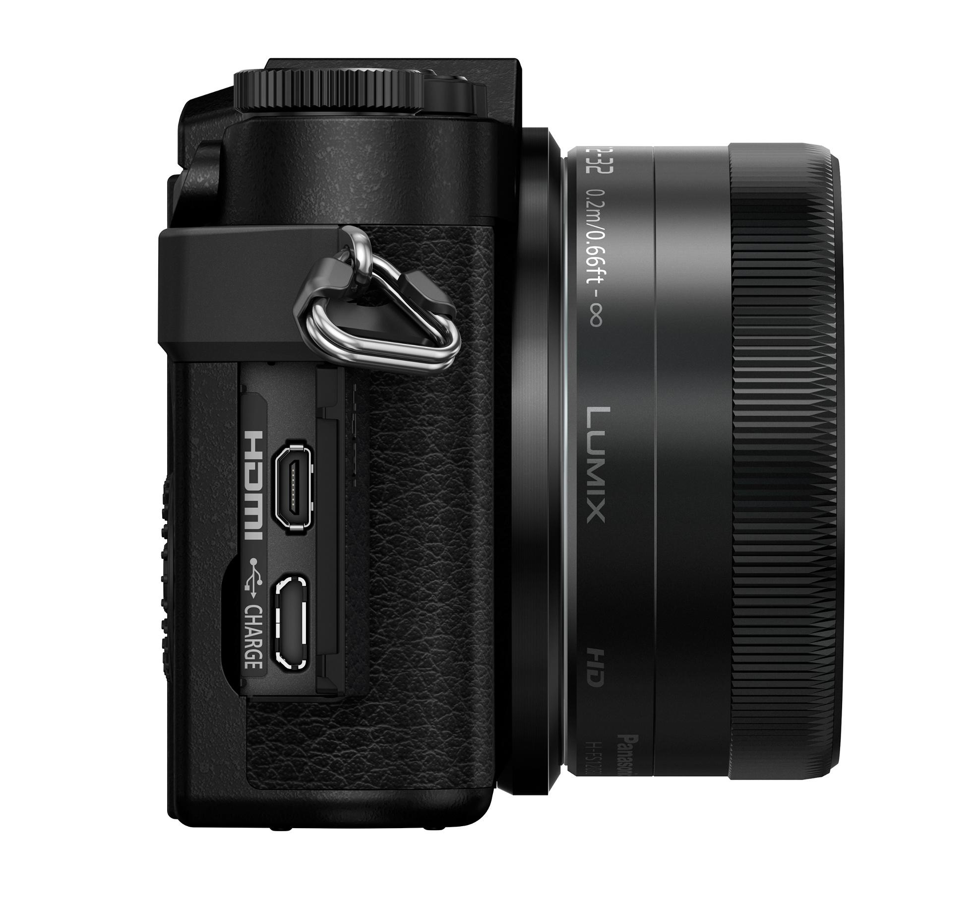 16MP 4K Mirrorless ILC Camera with 12-32mm Mega O.I.S. Lens Kit