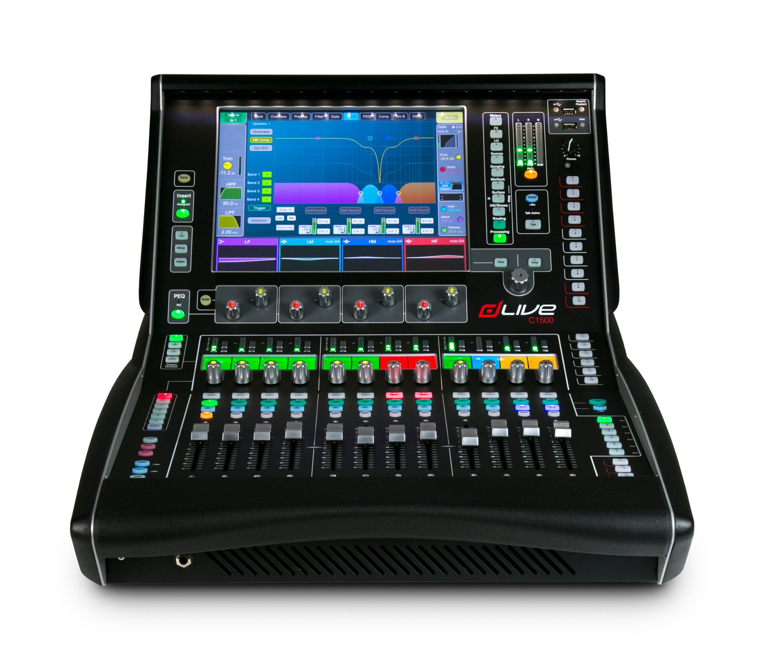 dLive C Class 12 Fader Surface
