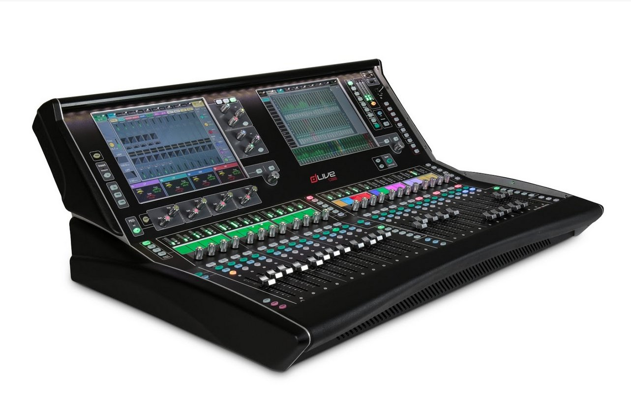 dLive C Class 24 Fader Surface