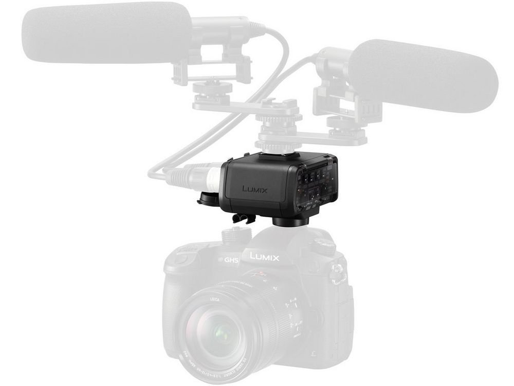 GH5 XLR Professional Microphone Adapter with Two XLR Terminals