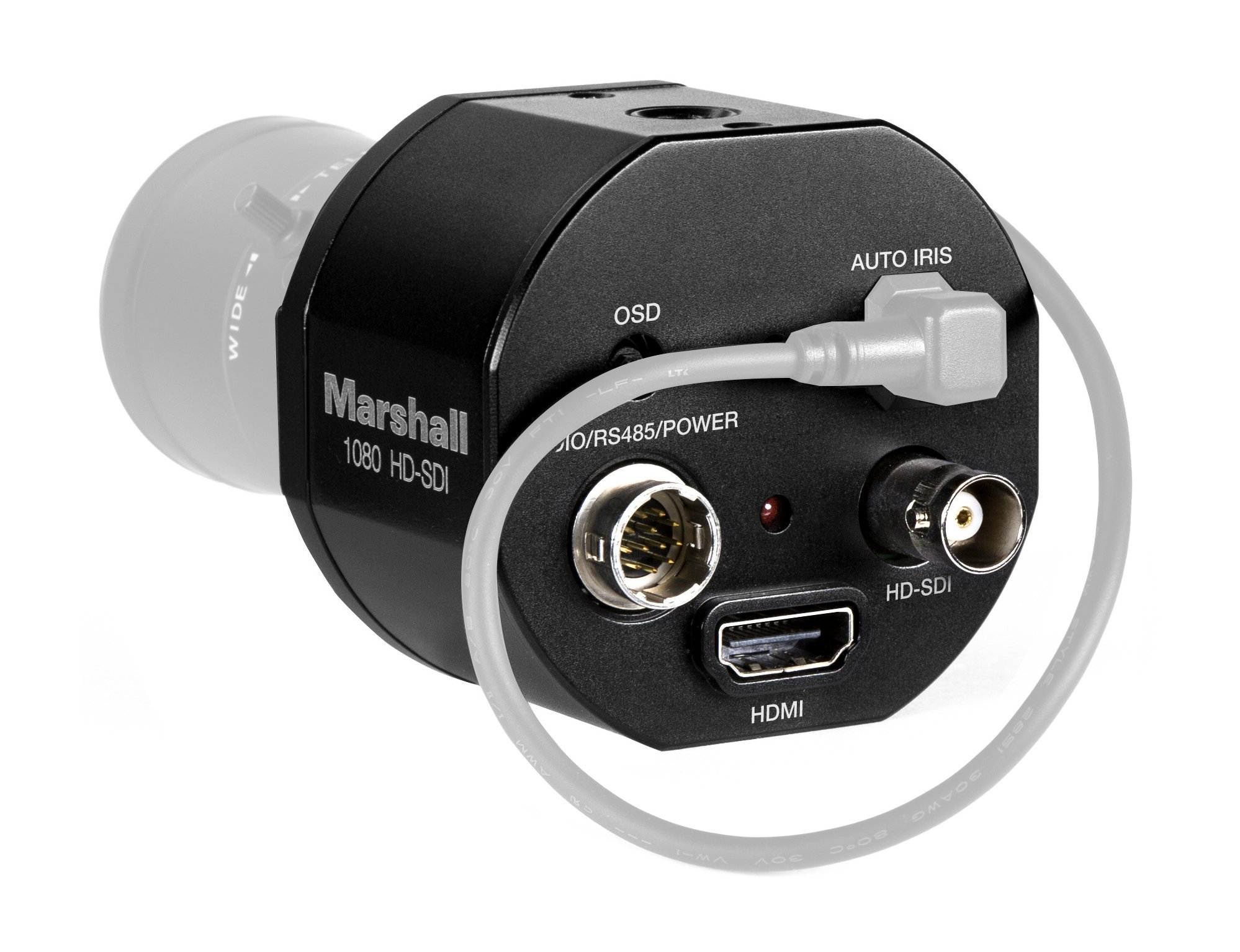 Compact 2Mp Full HD (3G/HD-SDI) Video (Non-Broadcast) Camera with HDMI Out