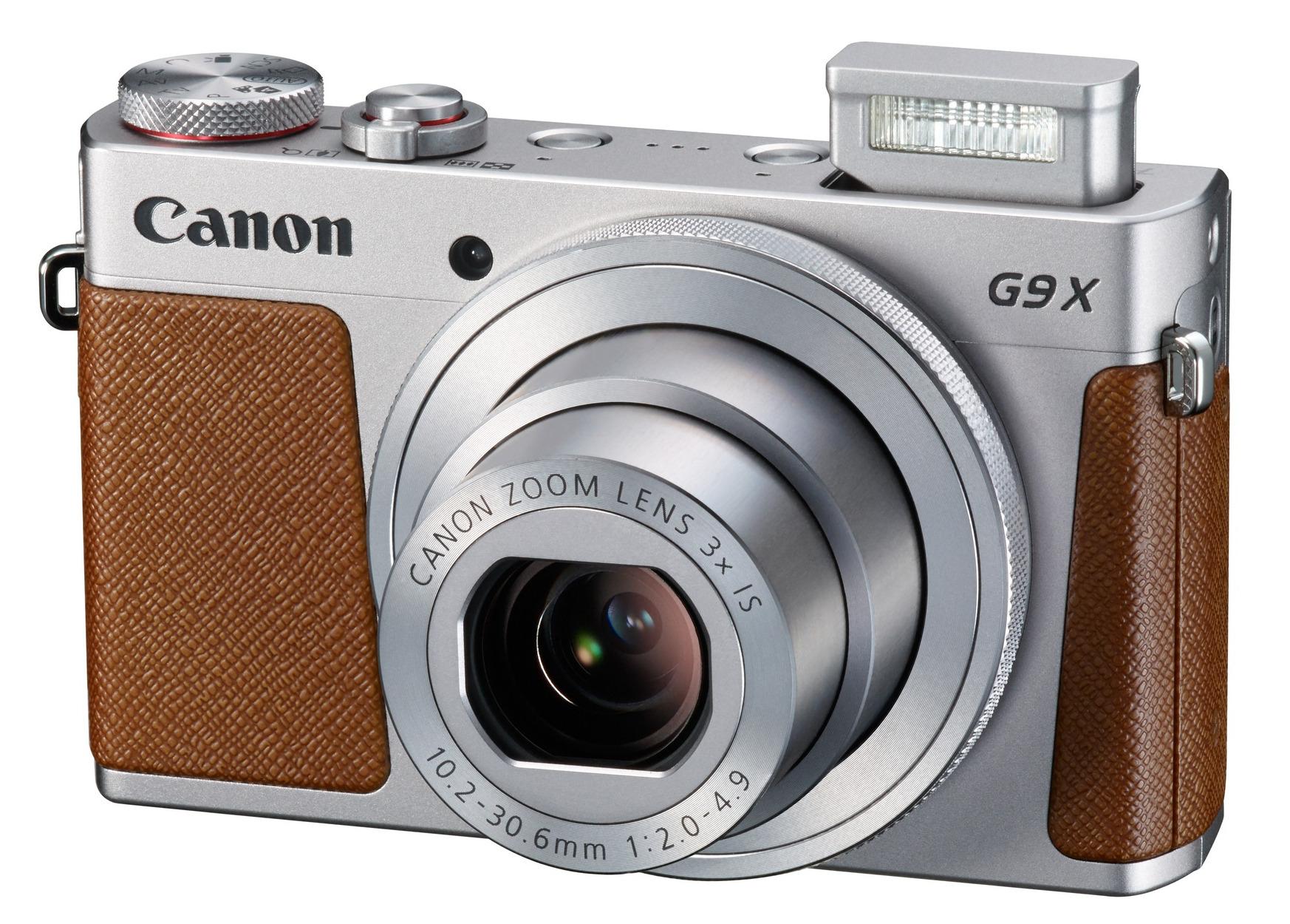 20.1MP Compact Camera in Black or Silver