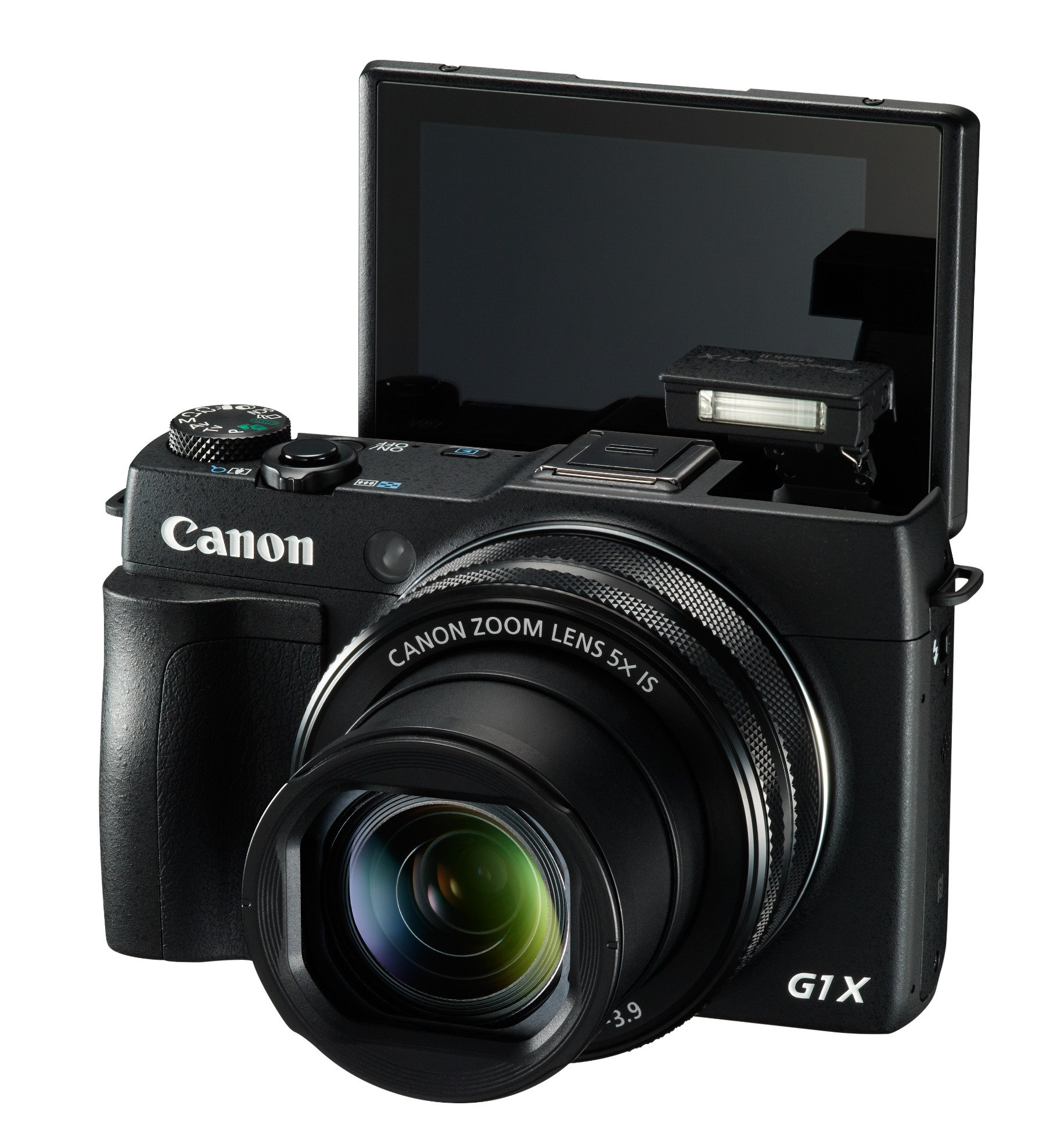 12.8MP Advanced Compact Camera in Black