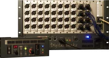 Digital Snake, 32 x 8 Modular Stage Unit (Shown with S4000R Remote Control, Not Included)