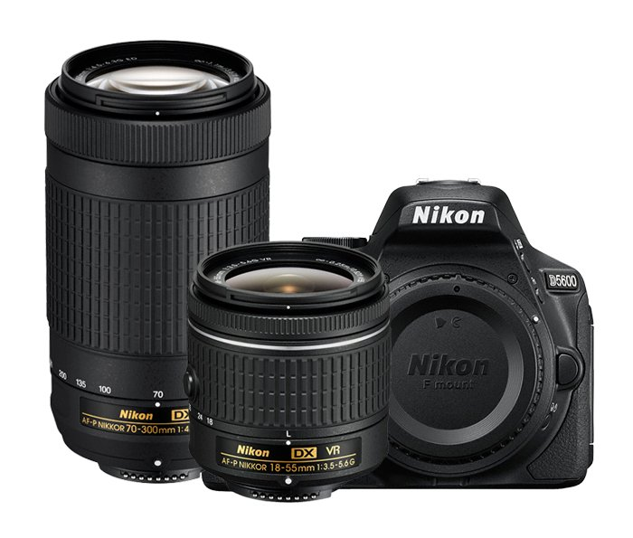 D5600 Double Zoom Lens Kit