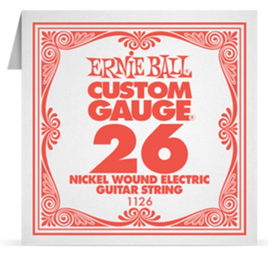 "Ernie Ball P01126 .026"" Nickel Wound Electric Guitar String P01126"