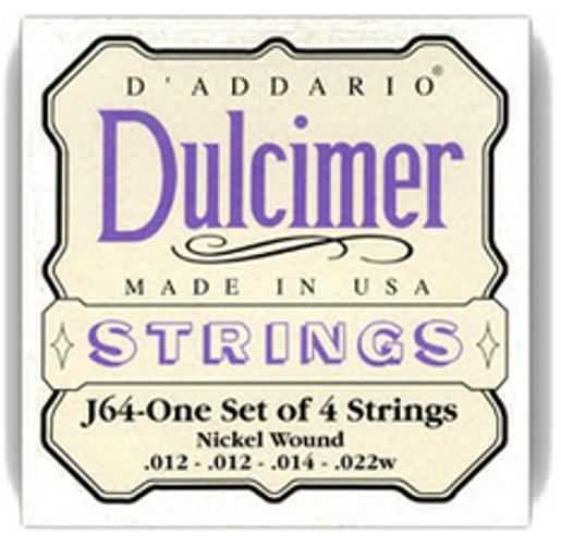 Nickel 4-String Dulcimer Strings