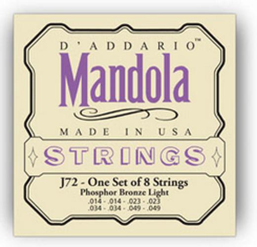 Light Phosphor Bronze Mandola Strings