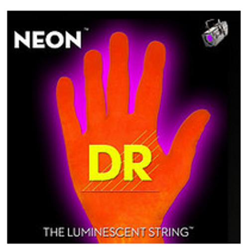 .010-.056 Medium 7-String Electric Guitar Strings in Hi-Def Orange