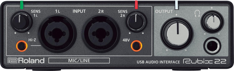 2 x 2 USB Audio Interface for Mac/PC/iOS