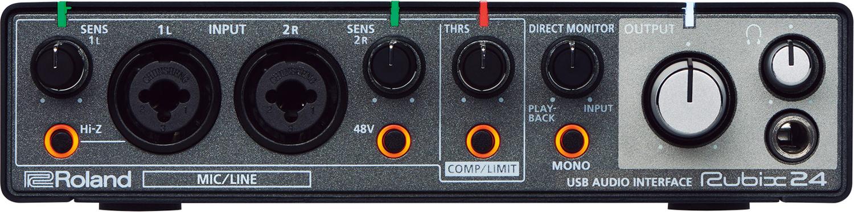 2 x 4 USB Audio Interface for Mac/PC/iOS