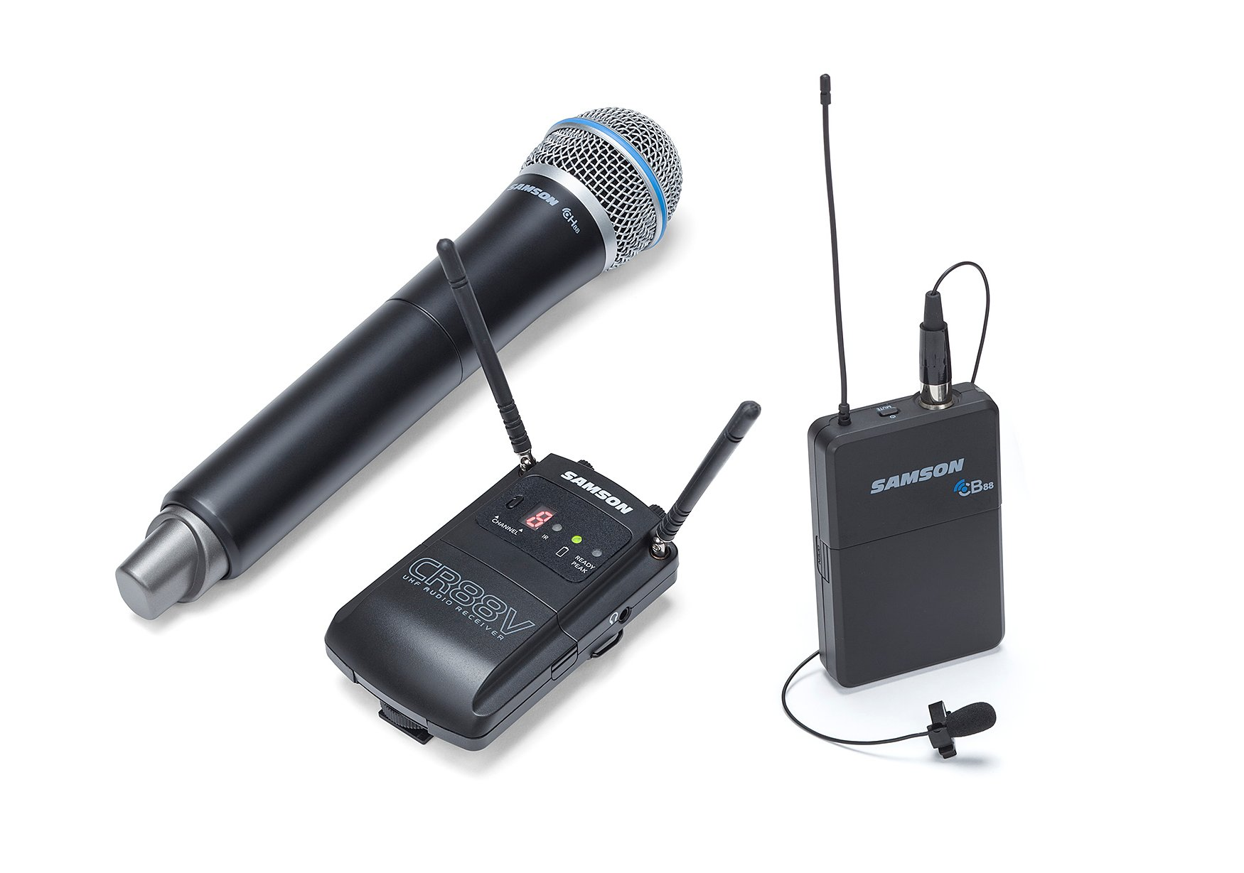 Wireless Combo Microphone System, D Band Version