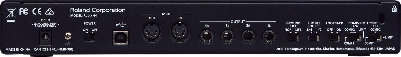 Roland Rubix44 4 x 4 USB audio interface for Mac/PC/iOS RUBIX-44