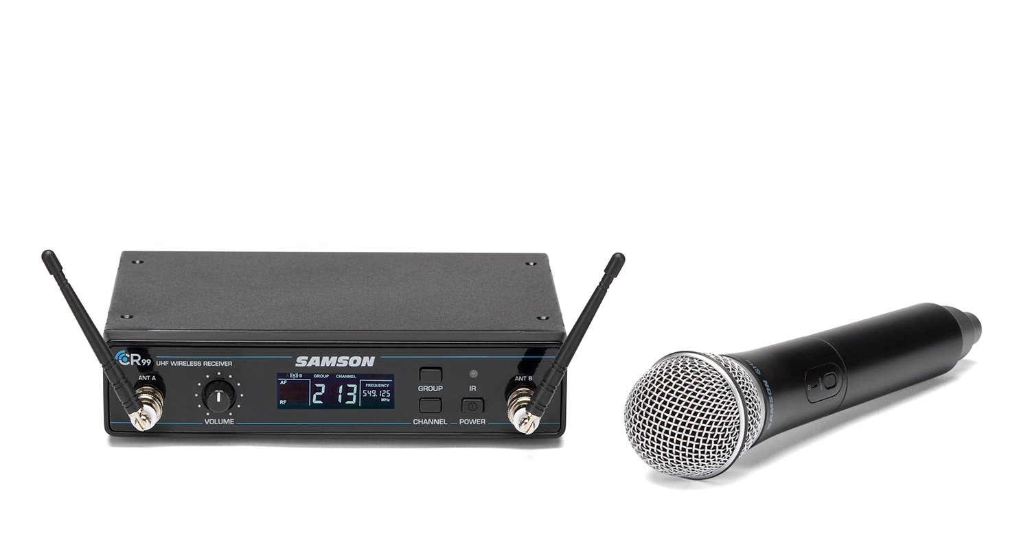 Concert 99 Wireless Handheld System, D Band Model 542 - 566 MHz