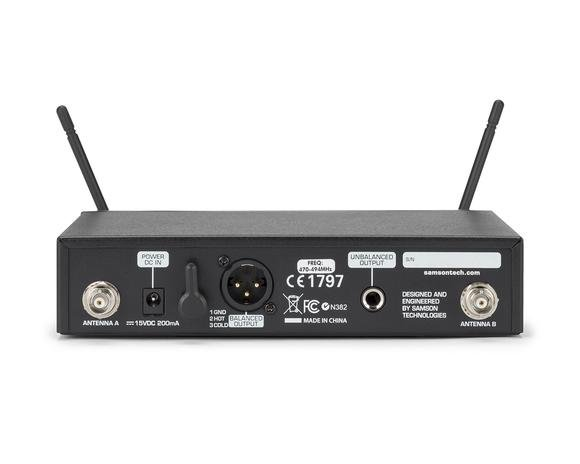 Frequency-Agile UHF Wireless System, D Band Model 542 - 566 MHz