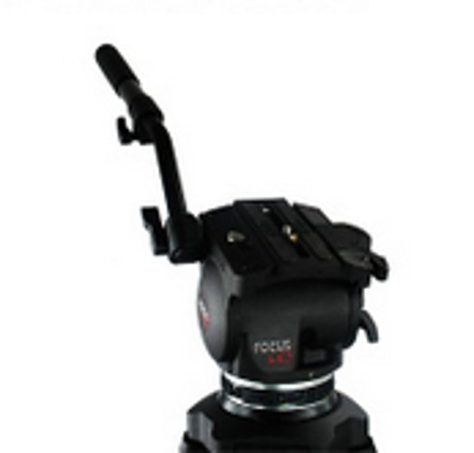 Focus HD Head, 2 Stage 3 Tube Tripod, Spreader