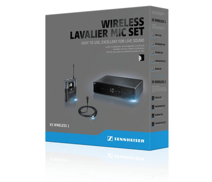 Wireless Lavalier Microphone System, A-Frequency Range 548-572MHz