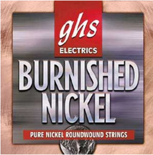 GHS Strings BNR-XL Extra Light Burnished Nickel Electric Guitar Strings BNR-XL