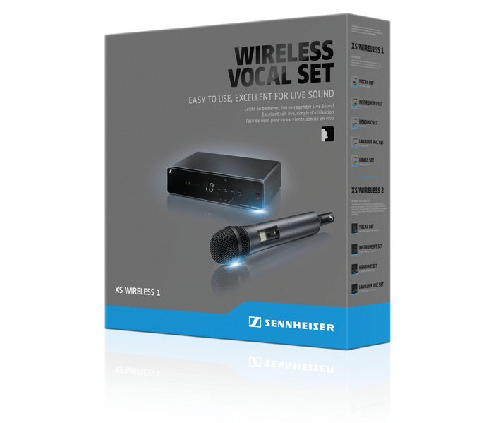 Wireless Handheld Microphone System, A-Frequency Range 548 - 572 MHz