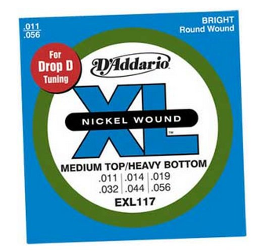 Medium Top/Extra Heavy Bottom XL Electric Guitar Strings