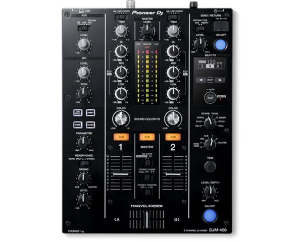 Pioneer DJM-450 2-Channel Mixer DJM-450