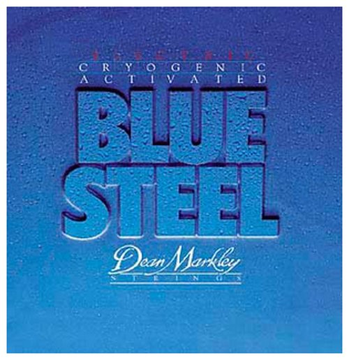 Medium Blue Steel Electric Guitar Strings