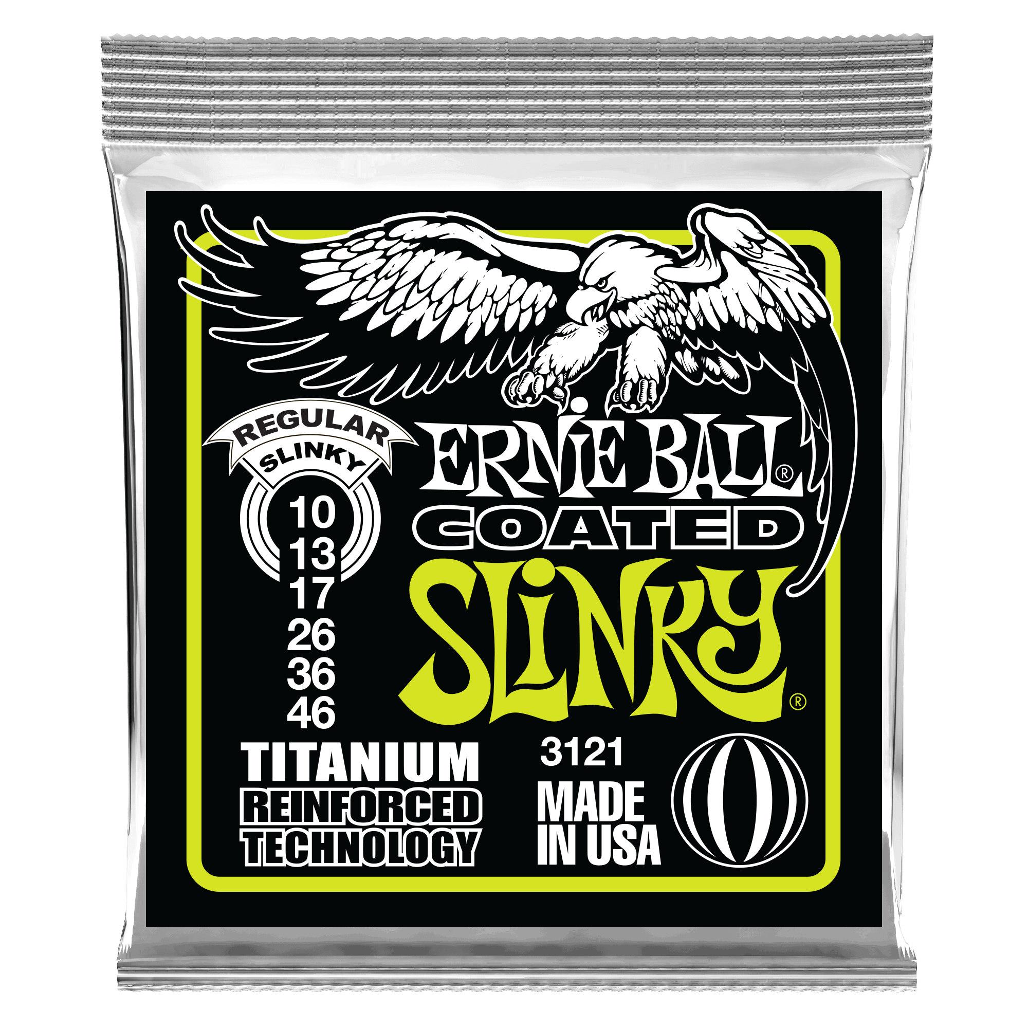 Regular Slinky Titanium RPS Electric Guitar Strings