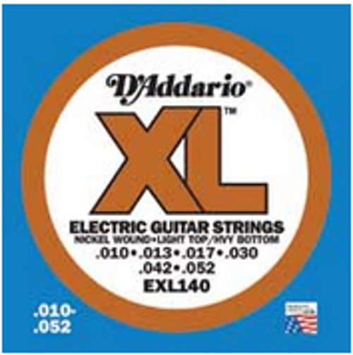 Light Top/Heavy Bottom XL Electric Guitar Strings