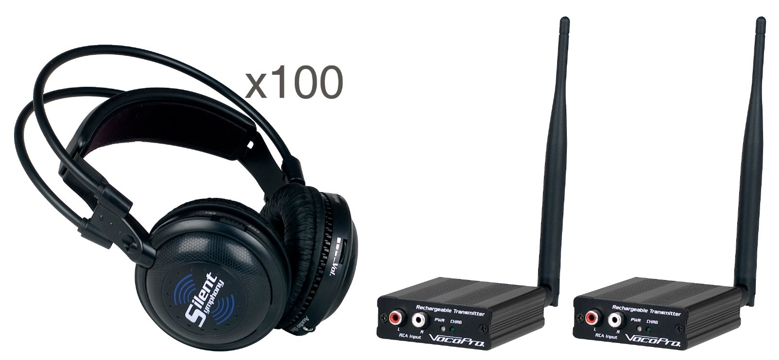 Wireless Audio Broadcast and Headphone System