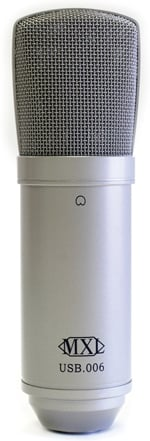 Large Diaphragm Condenser Microphone USB