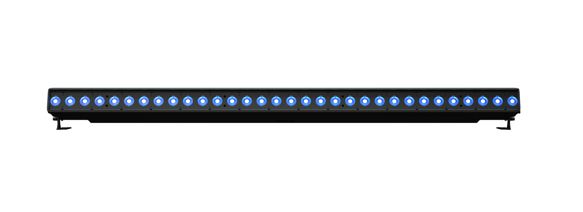 2 Meter RGB-L LED Batten Luminaire with Bare-End Power Lead
