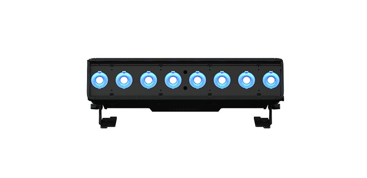 1/2 Meter RGB-L LED Batten Luminaire with Bare-End Power Lead