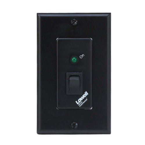 Decora-Style Maintained Closure Keyswitch Wall Plate, Single-Gang
