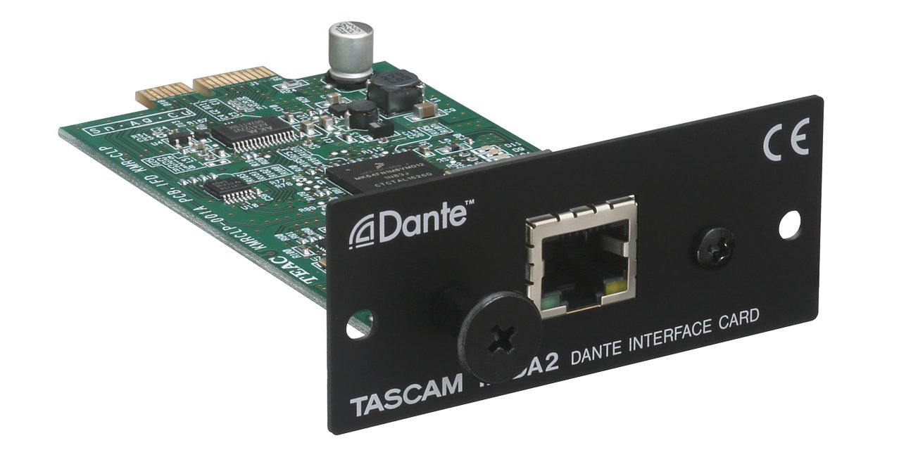 Dante interface card for SS-R250N and SS-CDR250N