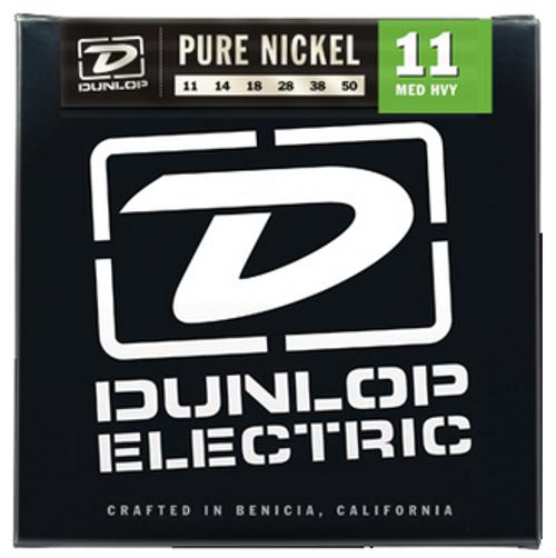 Dunlop Manufacturing DEK1150 Medium Heavy Pure Nickel Electric Guitar Strings DEK1150