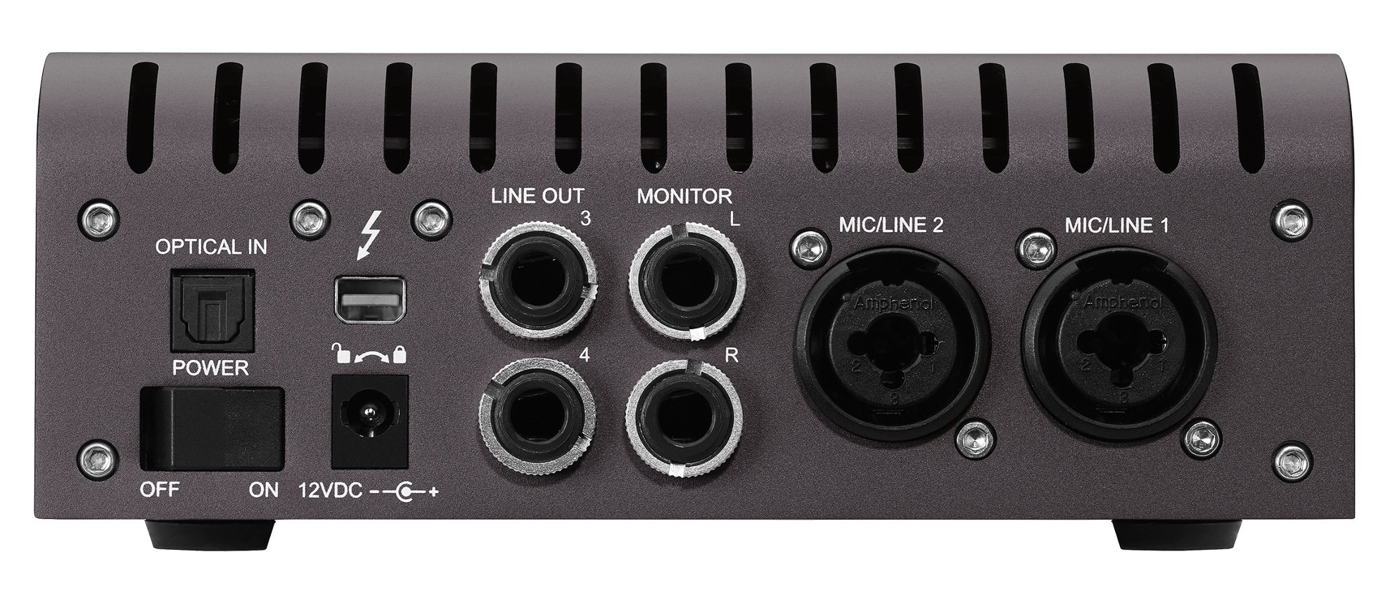 Desktop 2x6 Thunderbolt Audio Interface with Realtime UAD-2 Solo Processing