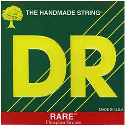 Medium-Light RARE Phosphor Bronze Acoustic Guitar Strings