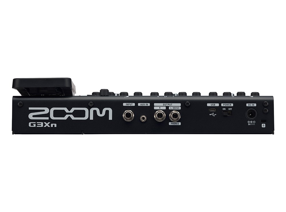Multi-Effects Processor with Expression Pedal
